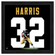 Franco Harris Framed Jersey Photo