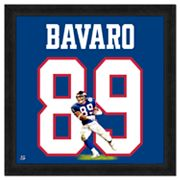 Mark Bavaro Framed Jersey Photo