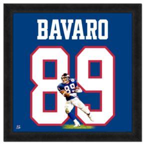 Mark Bavaro Framed Jersey Photo