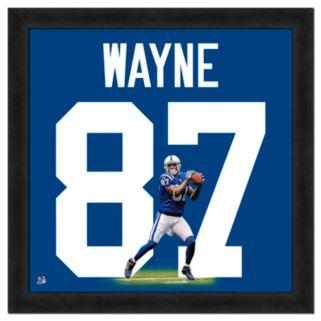 Reggie Wayne Framed Jersey Photo