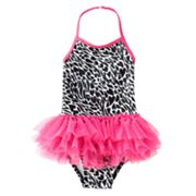 Jumping Beans Animal Halter Tutu One-Piece Swimsuit - Toddler