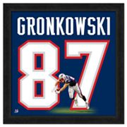 Rob Gronkowski Framed Jersey Photo