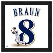 Ryan Braun Framed Jersey Photo
