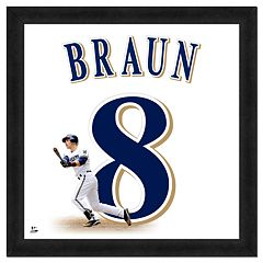 Ryan Braun Framed Jersey Photo