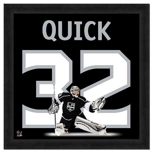 Jonathan Quick Framed Jersey Photo