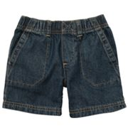 Carter's Woven Denim Shorts - Toddler