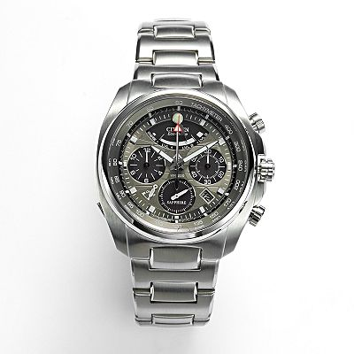 Citizen Eco-Drive Stainless Steel Chronograph Watch - AV0050-54H - Men