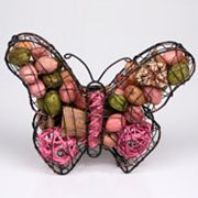 Metal Butterfly with Pomegranate Potpourri