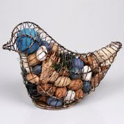 Metal Bird with Fresh Linen Potpourri