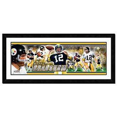 Terry Bradshaw Framed Player Photoramic