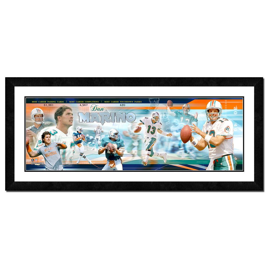 Dan Marino Framed Player Photoramic