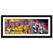 Kobe Bryant Framed Player Photoramic