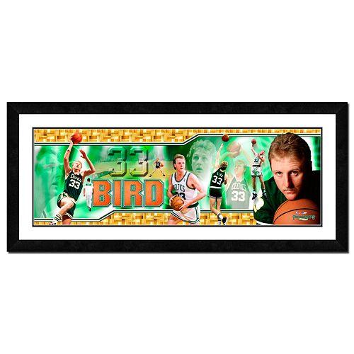 Larry Bird Framed Player Photoramic