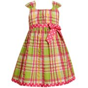 Bonnie Jean Plaid Seersucker Sundress - Girls 4-6x
