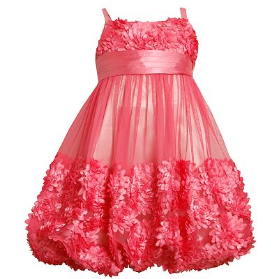 Bonnie Jean Floral Bubble Dress - Girls 4-6x