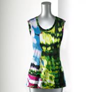 Simply Vera Vera Wang Watercolor Tank - Petite