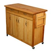 Catskill Craftsmen Butcher Block Kitchen Work Center