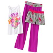 SO Soccer Yoga Pajama Set - Girls 7-16