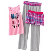 SO Bunny Yoga Pajama Set - Girls 7-16