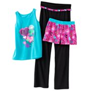 SO Heart Yoga Pajama Set - Girls 7-16
