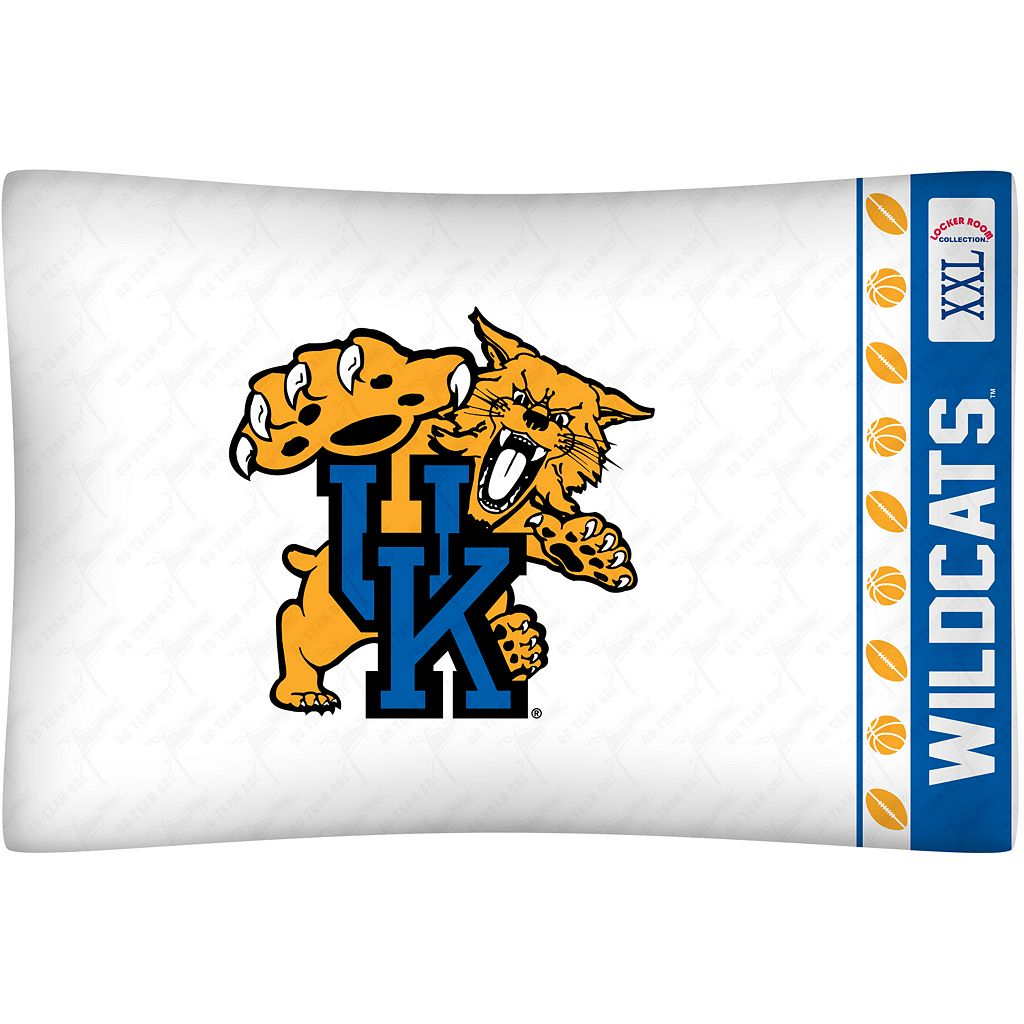 Kentucky Wildcats Standard Pillowcase