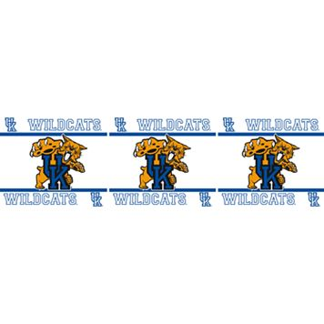 Kentucky Wildcats Wall Border