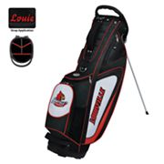 Team Effort Louisville Cardinals Gridiron II Golf Bag