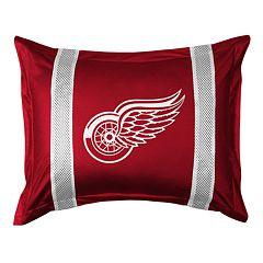 Detroit Red Wings Standard Pillow Sham