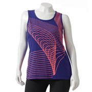 Tek Gear Printed Performance Tank - Women's Plus