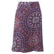 Croft and Barrow Midi Challis Skirt