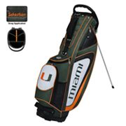 Team Effort Miami Hurricanes Gridiron II Golf Bag