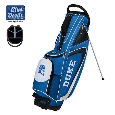 Team Effort Duke Blue Devils Gridiron II Golf Bag