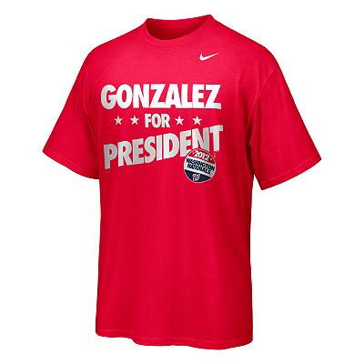 Nike Washington Nationals Gio Gonzalez Election Tee - Men