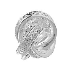 Individuality Beads Sterling Silver Love Knot Bead