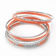 Apt. 9 Textured Bangle Bracelet Set