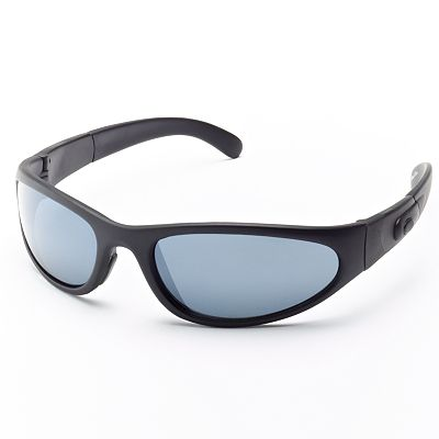 Helix Oval Wrap Sunglasses