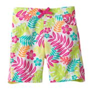 Jumping Beans Floral Bermuda Shorts - Girls 4-7