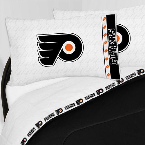 Philadelphia Flyers Sheet Set - Twin