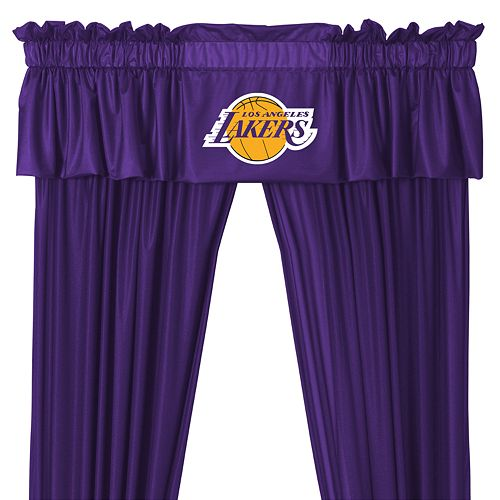 Los Angeles Lakers Window Valance - 14'' x 88''