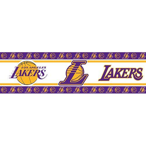Los Angeles Lakers Wall Border