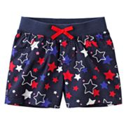 Jumping Beans Star Shorts - Girls 4-7