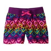 Jumping Beans Heart Shorts - Girls 4-7