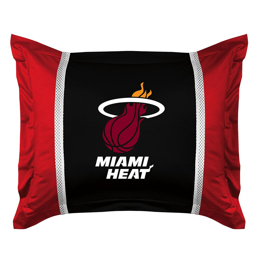 Miami Heat Standard Pillow Sham