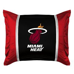 Miami Heat Standard Pillow Sham