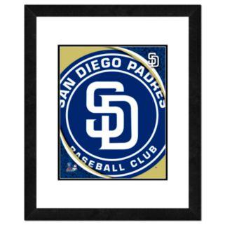 San Diego Padres Framed Logo