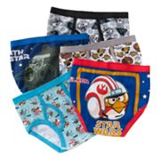 Angry Birds Star Wars 5-pk. Briefs - Boys 4-20