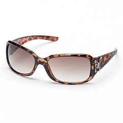 SO Butterfly Rectangular Sunglasses