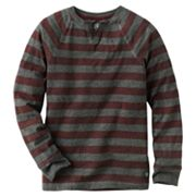 Rock and Republic Striped Notch Neck Tee - Boys 8-20