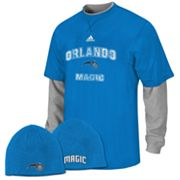 adidas Orlando Magic Mock-Layer Tee and Knit Cap Set - Boys 8-20