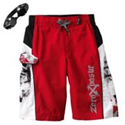 ZeroXposur Block Rogue Swim Trunks - Boys 8-20